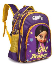 Chutki School Bag Girl Power Print - 14 inches