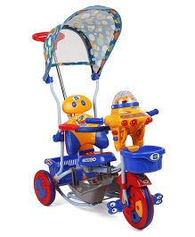 Mee Mee Tricycle Cum Rocker - Blue Orange