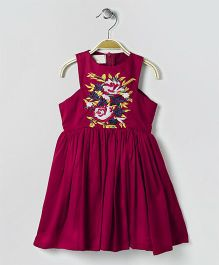 FairiesForever Sleeveless Dress - Red