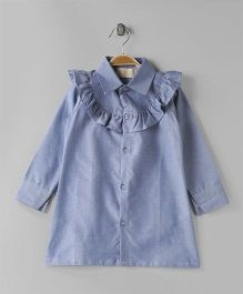 FairiesForever Shirt Dress - Light Blue
