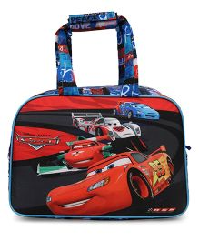 Disney Hand Bag Pixar Car Print Red & Blue - Length 9 inches