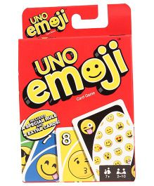 Mattel Emojis UNO Cards - Multi Color