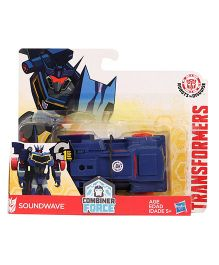 Transformers RID Combiner Force Sound Wave Figure - Blue