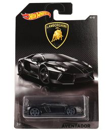 Hot Wheels Aventadoor Lamborghini Toy Car - Black