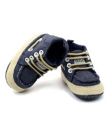 Wow Kiddos Denim Style Sneakers - Blue