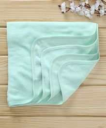 Babyhug Cotton Terry Solid Colour Towel - Sea Green