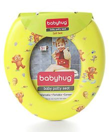 Babyhug Soft Cushioned Baby Potty Seat  Printed - Yellow