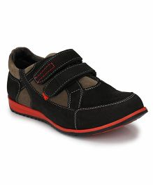 Tuskey Velcro Sneakers Shoe - Black