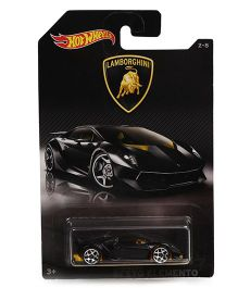 Hot Wheels Lamborghini Sesto Element Toy Car - Black