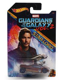 Hot Wheels Marvel Slight Shot Guardians Of Galaxy Toy Car - Maroon
