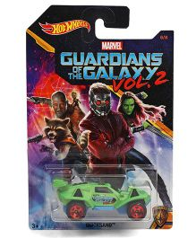 Hot Wheels Marvel Quicksand Guardians Of Galaxy Toy Car - Green