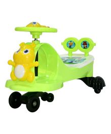 Delia Musical Twister Swing Car - Green