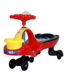 Deliababy Musical Twister Swing Car - Red