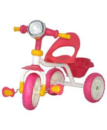 Deliababy Tricycle - Pink Yellow