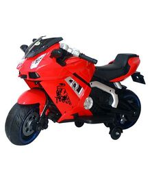 Deliababy Rechargeable Battery Operated Lamborghini Bike - Red