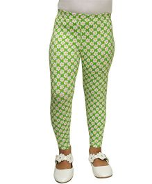 D'chica Summer Style Leggings - Green