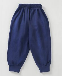 Fido Full Length Solid Colour Lounge Pant - Navy Blue