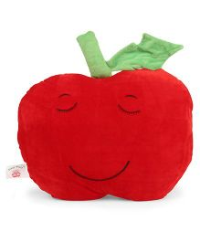 Dimpy Stuff Apple Shape Cushion - Red