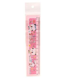 Animal Printed Ruler - Pink