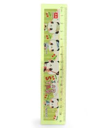 Animal Print Ruler - Green