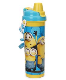 Minion Unique Water Bottle With Flip Open Lid - 750 ml
