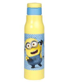 Minions Sipper Bottle With Flip Open Lid Yellow - 500 ml