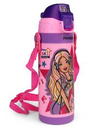 Barbie Insulated Bottle Pink - 400 ml