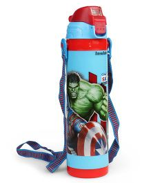 Marvel Avengers Insulated Bottle Blue - 500 ml