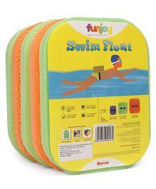 Funjoy Small Swim Float - Orange Green