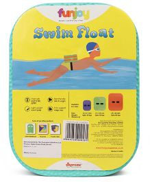 Funjoy Small Swim Float - Green Purple