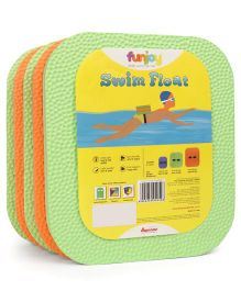 Funjoy Medium Swim Float - Orange Green