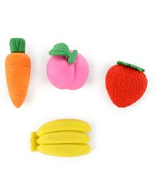 Erasers Pack of 4 (Design May Vary)