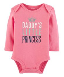 Carter's Daddy's Little Princess Bodysuit - Pink