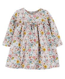 Carter's Floral Jersey Dress - Multicolour