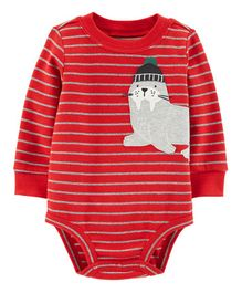 Carter's Sea Lion Collectible Bodysuit - Red