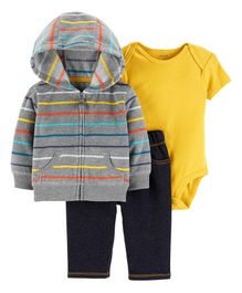 Carter's 3-Piece Little Jacket Set - Multicolour
