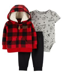 Carter's 3-Piece Little Jacket Set - Red
