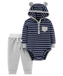 Carter's 2-Piece Bodysuit Pant Set - Navy