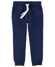 Carter's Pull-On French Terry Joggers - Navy Blue