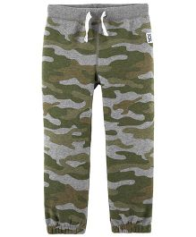Carter's Camo Pull-On Joggers - Green
