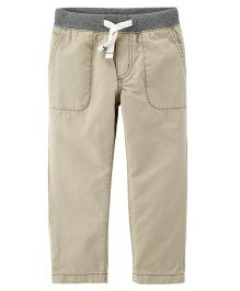 Carter's Everyday Pull-On Pants - Beige