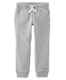 Carter's Pull-On French Terry Joggers - Grey