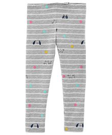 Carter's Cat & Dog Matchtastic Leggings - Grey