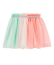 Carter's Tulle Tutu Skirt - Peach Green