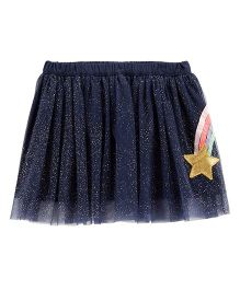 Carter's Shooting Star Tulle Tutu Skirt - Navy
