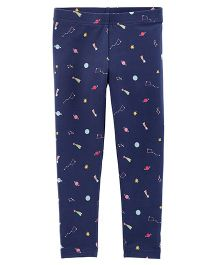 Carter's Space Matchtastic Leggings - Blue