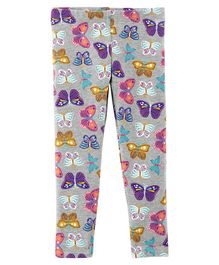 Carter's Leggings Butterfly Print - Grey
