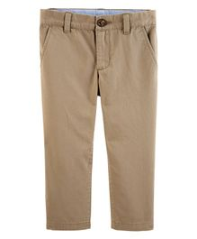 Carter's Khaki Twill Pants - Light Brown