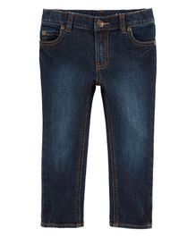 Carter's Skinny Slub Denim Jeans - Blue