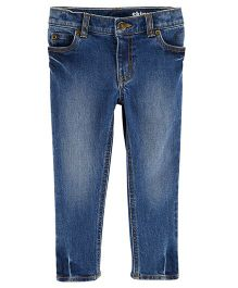 Carter's Dark Wash Skinny Jeans - Blue